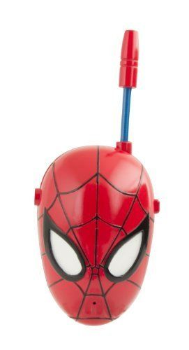 Spiderman 4 Walkie Talkies @ niftywarehouse.com #NiftyWarehouse #Spiderman #Marvel #ComicBooks #TheAvengers #Avengers #Comics