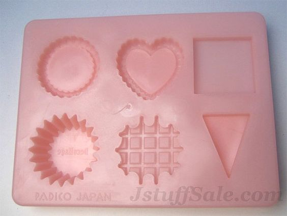 Padico Decollage clay mold  cupcake tart waffle by JstuffSale, $7.99