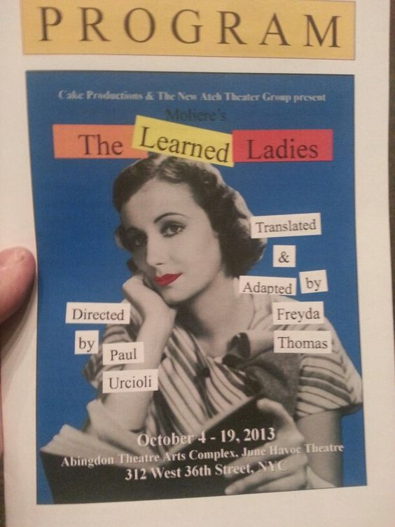 All Lady Cast. A french farce. Good.