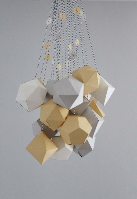 Geometric Advent Calendar / Sanae Ishida Monochrome Christmas