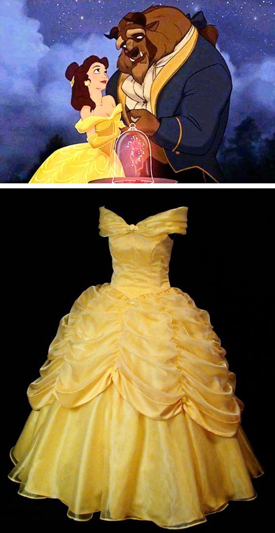 Beauty and the Beast Belle Classic Yellow Gown   Disney ...