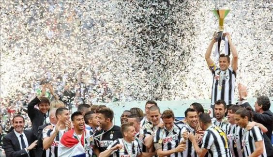 Juventus #30sulcampo #DelPiero Campeon de italia!