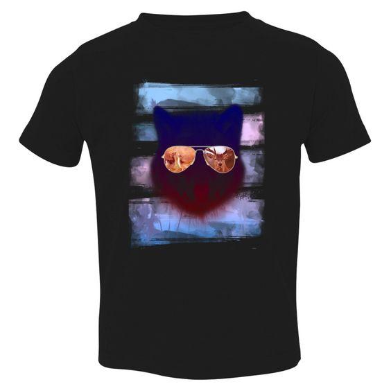 Summer Fox Toddler T-shirt