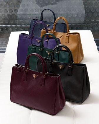 prada leather tote bags