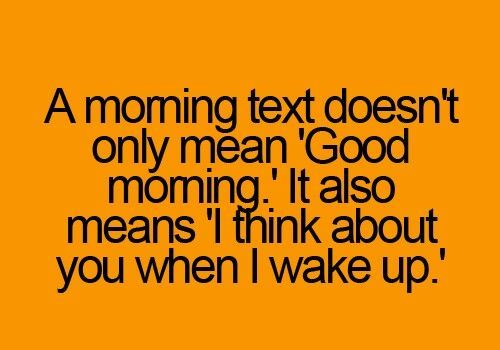 Best good morning texts, For her and Texts on Pinterest