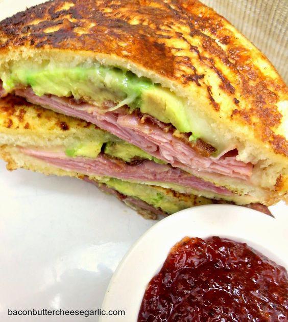 ... monte cristo sandwich bacon pepper jelly recipes sandwiches cheese