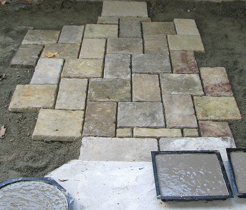 Homemade Paver Stones Image  Http://www.themoldstore.us/productinfo.aspx?productidu003dP 5006 OR | Views  Into My Dream Garden, One Day, One Day!