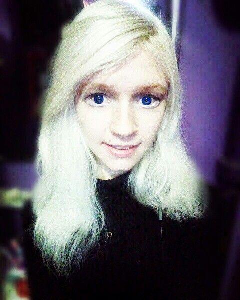Tanya Rumyantseva, Таня Румянцева, живая кукла, белые волосы, большие глаза, синие глаза, линзы, милая девушка, аниме, живая аниме, кавай, ня, няша, няшка, living doll, human doll, dolly, anime, lenses, circle lenses, circlelenses, blue eyes, big eyes , cute, anime, living anime, human anime, kawaii, cute girl, white hair, blonde hair, platinum blond, платиновый блонд, белоснежные волосы