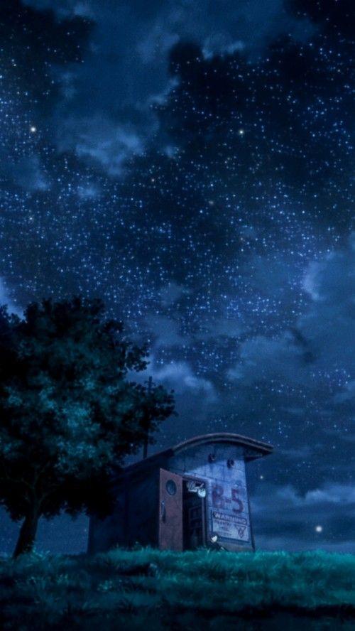 Best Anime Wallpaper Phone Dengan Gambar Pemandangan Anime