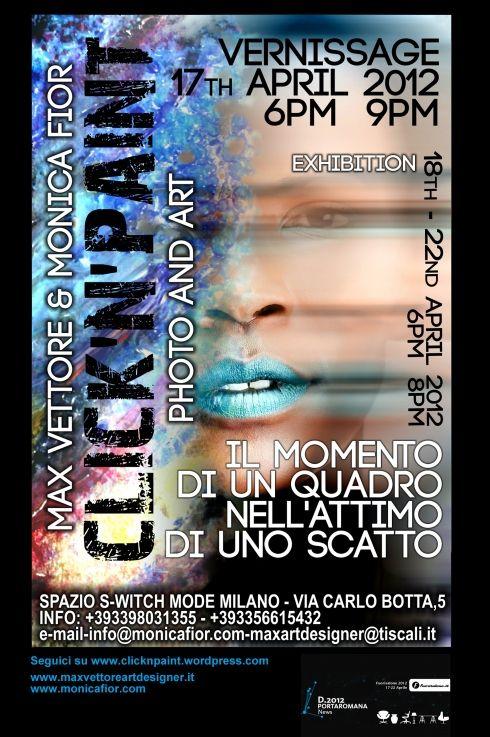 """Fuori Salone Milano: """"Click'n'paint"""" di Max Vettore e Monica Fior"""
