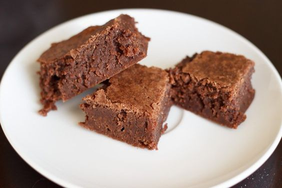Chewy chocolate brownies with a hint of peppermint flavor. No need to crush up candy canes for this recipe!
