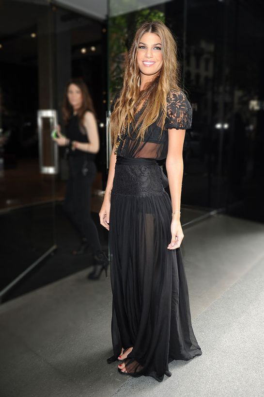 Bianca Brandolini - Black transparency