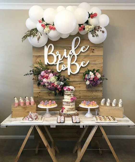 How To Host A Bridal Shower That Every Bride To Be Dreams About Theme 1 From Efavorm Bridal Shower Backdrop Bridal Shower Rustic Creative Bridal Shower Ideas