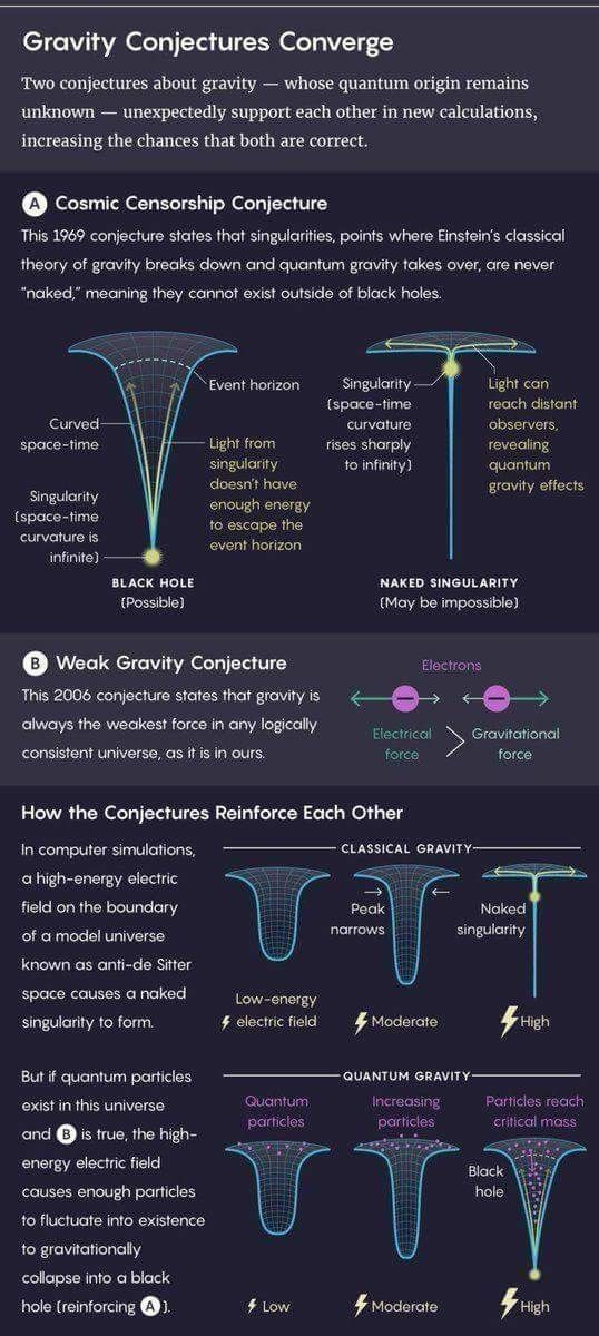 Science Infographic Gravity Gravity Science Theoretical Physics