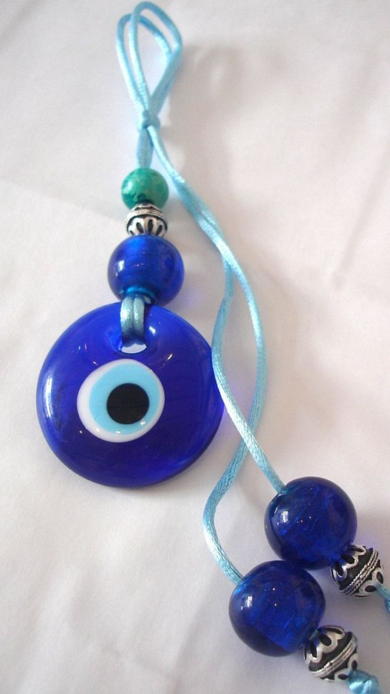 Painted With Blue Eyes Talisman