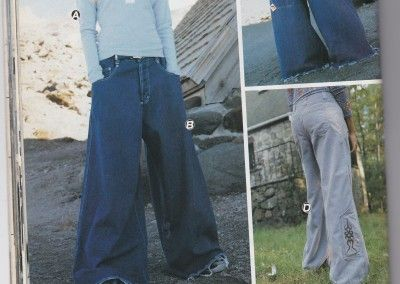Tiny shirt and huge pants. Can we bring this universally flattering shape back?