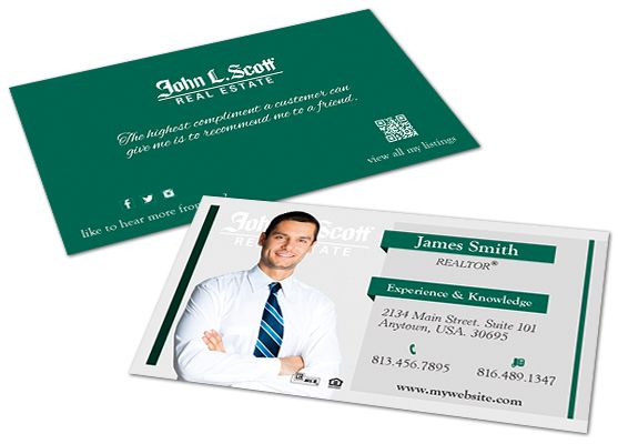 John L Scott Business Cards 13 John L Scott Business Cards 13 Clear Business Cards Digital Business Card Layered Business Cards