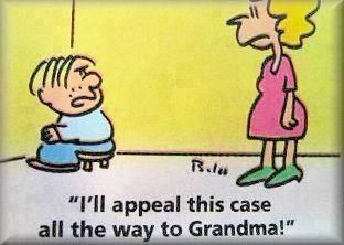 humor between grandma and grandkids | probably true @J O Davey
