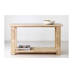 Ikea rekarne tavolo consolle si pu collocare dietro - Table console bois ...