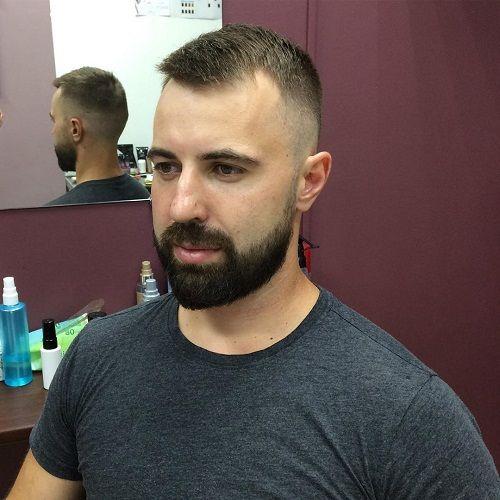 15 Trending Hairstyles For Balding Men Top Front Sides In 2021 Balding Mens Hairstyles Hair Loss Men Haircuts For Balding Men