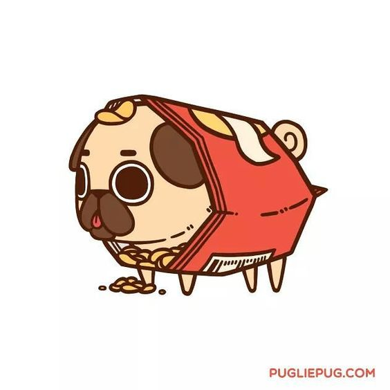 When you buy a bag of air and there's... a Puglie inside??? by pugliepug