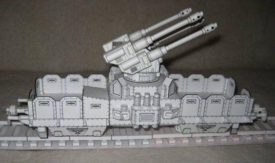Warhammer 40K - Gun Wagen Free Paper Model Download - http://www.papercraftsquare.com/warhammer-40k-gun-wagen-free-paper-model-download.html#160, #GunWagen, #Warhammer40K