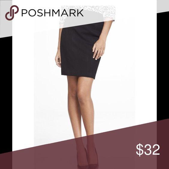 💞LOFT💞Black Highwaist Pencil Shirt Boutique | Loft, Shells and ...