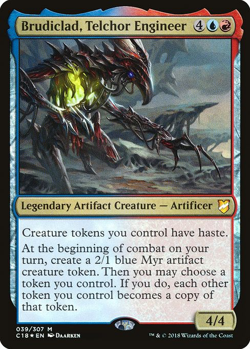 MTG Command the Storm Guilds of Ravnica Red Com FOIL Magic the Gathering NM//M