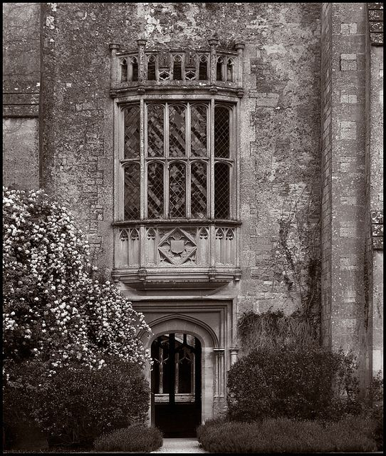 What Movie Was Filmed At Westbury Gardens: Lattice Window At Lacock Abbey