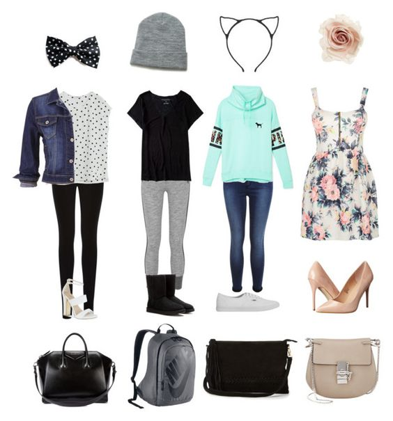"""""""Random Outfits of the Day"""" by rileyadewitt ❤ liked on Polyvore"""