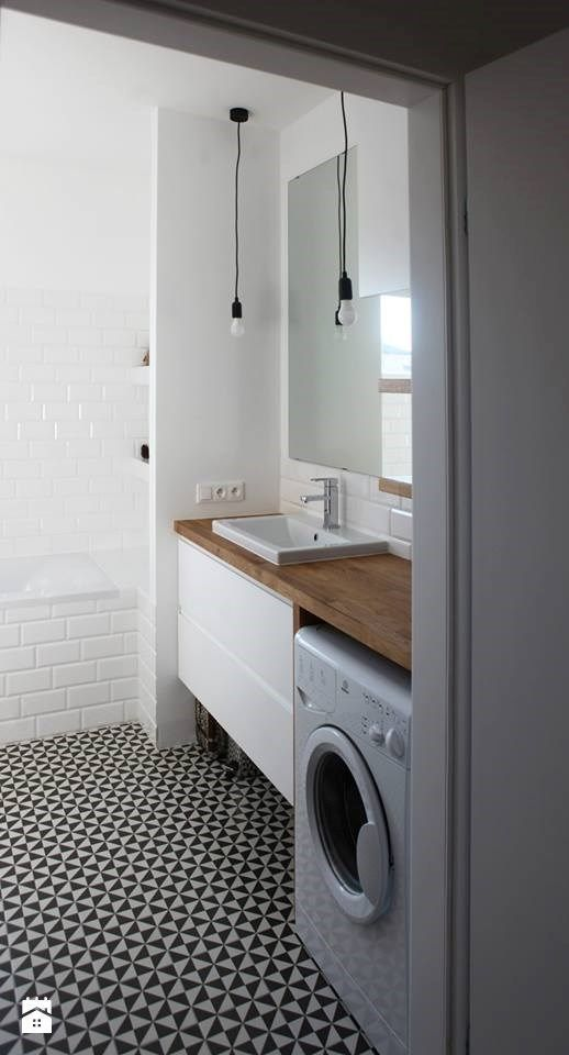 A Combined Laundry And Bathroom Idee Salle De Bain Amenagement