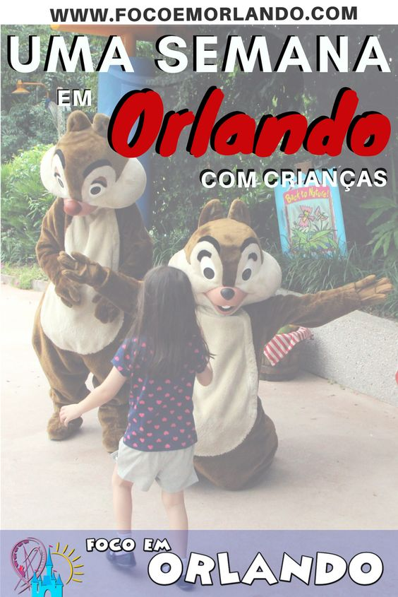 Pinterest - Roteiro de uma semana em Orlando com crianças