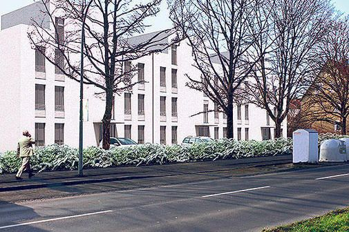 So sollen die Wohnhäuser an der Jheringstraße einmal aussehen.