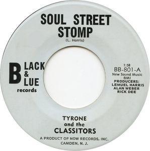Tyrone And The Classitors - Gettin' T'gether, Man:最近すっかりFunkってカテゴライズで盤を買う事が減ってきたのですが、過去のブログを思い出し初心に帰る感じでココで修正再ポスト。某Bandのギタリストの放出で安価で購入したコレ。ずっと好きでほぼ必ずレコバッグに入ってる。  好きなのはもちろんB面なんだけど、終始跳ね系Drum。しかもナイスなブレイクが鎮座する1970年New Jersey産。60's臭とR&B臭に彩られ暴発する怪速Tune。前述の強いDrummingと勇猛なBassが荒れ狂い突っ走る抜群のBeat上を、暑苦しいホーンが音が割れる位(Mic近すぎ?)Maxでブロウ。それに独自の間で突っかかる(そんな急かさんでも)ギター。  パッションとエナジーを己の自己表現で爆ぜる術まったく油断できない。あっという間に燃え上がる男のテーマ。2分ちょっとの潔い一発。   最近リエディットされてリリースされてたけどやっぱり原曲がこの上なくイカす。