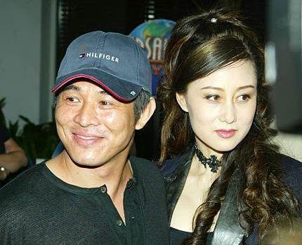 Jet Li med sexy, Kone Nina Li Chi