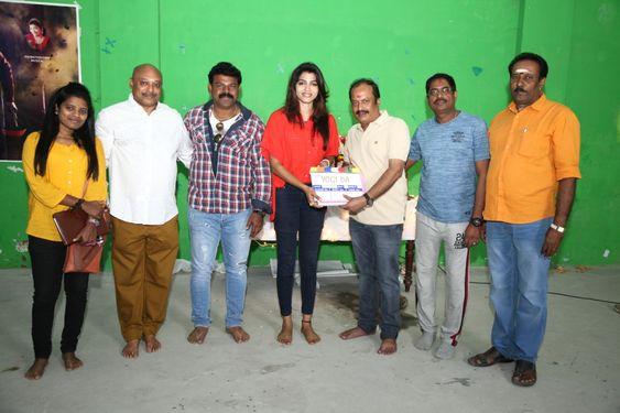 Actress Sai Dhanshika Yogi Da Movie Launch