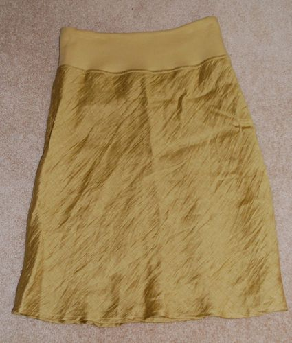JONES NEW YORK GREEN LINEN SKIRT SIZE MEDIUM