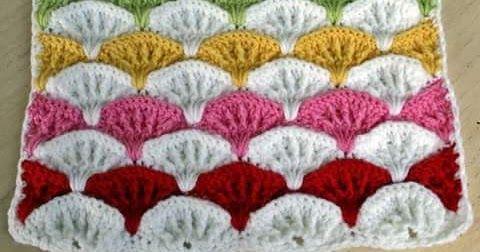غرز كروشية طريقة بطانيات كروشية للأطفال مفارش بيبي طريقة غرزة كروشية بالصور Crochet Blanket Patterns Crochet Crochet Pillow Cover