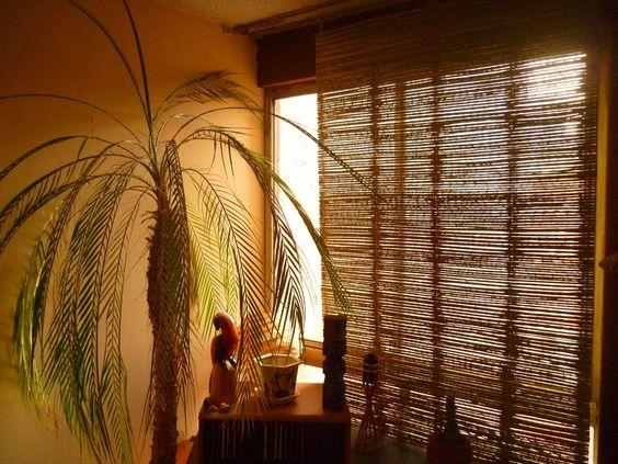 persianas artesanales, rusticas, elaboradas con junco
