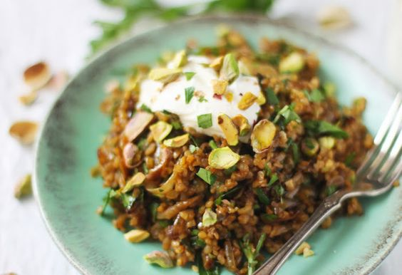 Freekeh pilaf | Recipes we can't wait to try! | Pinterest | Html