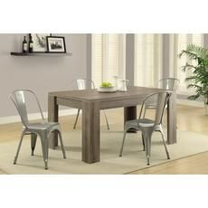 """Dining Table - 36""""X 60"""" / Dark Taupe Home Depot Canada"""