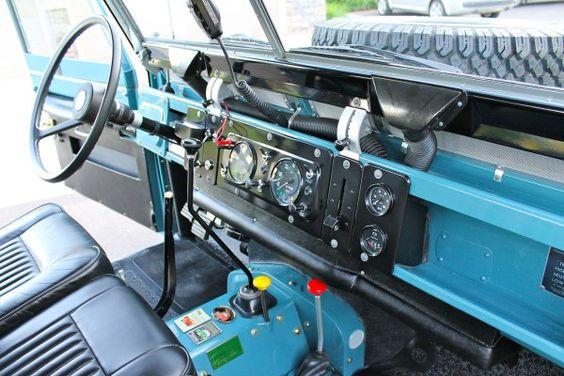 1971 Land Rover Series IIA 88 Utility