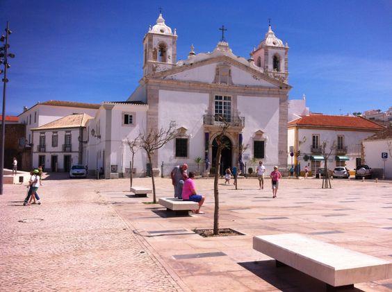 Town square Lagos, Algarve