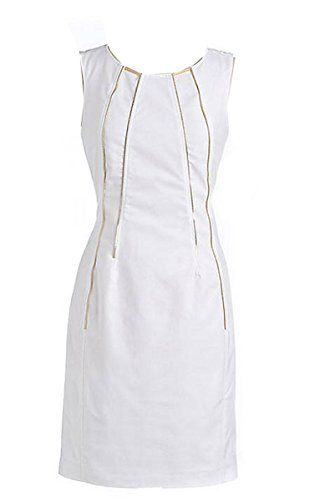 Calvin Klein White Sleeveless Zipper Sheath Dress (8) Calvin Klein http://smile.amazon.com/dp/B00YT4QYMQ/ref=cm_sw_r_pi_dp_2IN1vb0VC5X5A