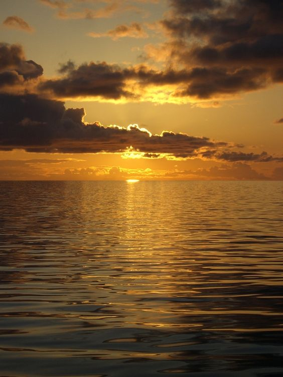 Alaskan sunset.