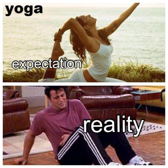 Yoga expectation and reality: