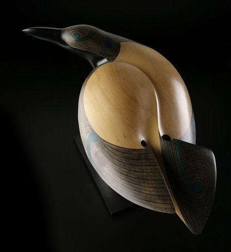 Raven • New Zealand Raven by Rex Homan, Māori artist (KR80202):