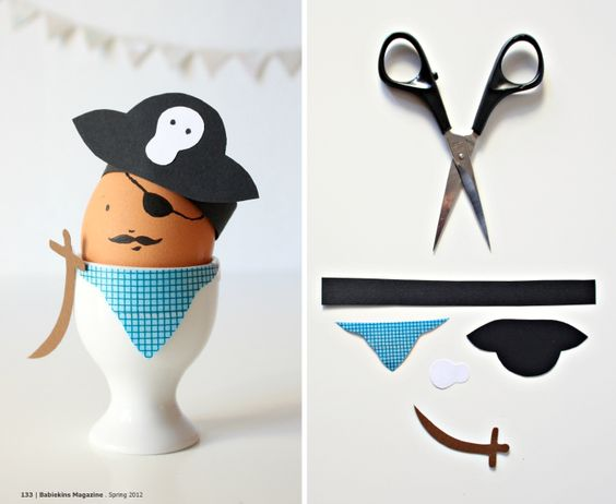 Dress up your eggs!