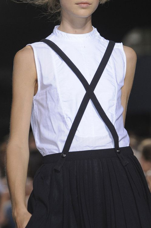 suspenders...band of outsiders ss12