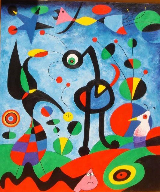 El Arte En La Vida Joan Miró Pintor Escultor Grabador Ceramista Cuadros De Joan Miro Joan Miró Para Niños Miro Pintor